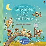 Einschlafen mit dem Eulen-Orchester: mit Gute-Nacht-Melodien - ab 3 Monaten - Sam Taplin