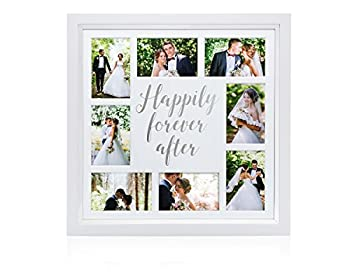 wedding picture frame collage
