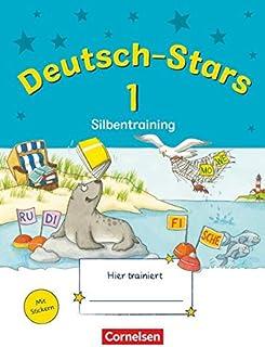 Deutsch-Stars - Allgemeine Ausgabe - 1. Schuljahr: Silbentra