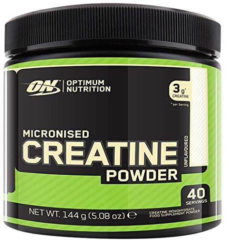 Optimum Nutrition ON Creatina Monohidrato Micronizada, Creatine en Polvo, Suplementos Deportivos...