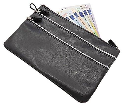 Große Banktasche mit 3...