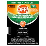 Off! Deep Woods Insect Repellent Towelettes - Deet Free, 10 ct