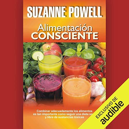 Diseño de la portada del título Alimentación consciente