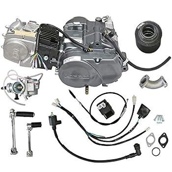ZXTDR Lifan 140cc Engine Motor for XR50 CRF50 XR CRF 50 70 ATC70 Dirt Pit Bike Motorcycle   N1234 Gear 4 Stroke Racing Engine