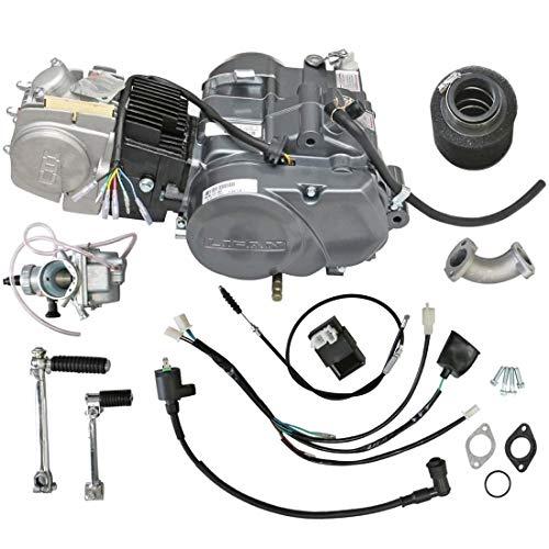 ZXTDR Lifan 140cc Engine Motor for XR50 CRF50 XR CRF 50 70 ATC70 Dirt Pit Bike Motorcycle | N1234 Gear 4 Stroke Racing Engine