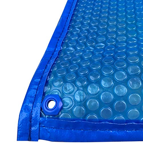JLXJ Solarplane Bubble-Solar-Pool-Abdeckungen, Rechteck Heavy Duty Über den Boden Persenning mit Tüllen, Regendicht Staubwärmespeicherdecken (Size : 3m x 8m(10ft×26ft))