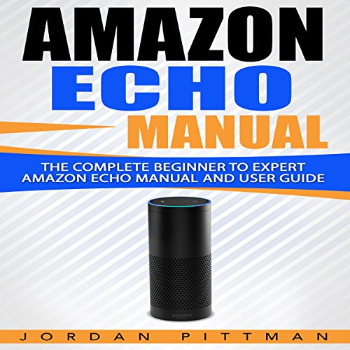 Amazon Echo Manual audiobook cover art