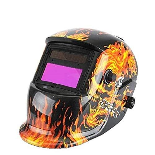 Masque de soudage automatique Amzdeal Casque solaire, noir
