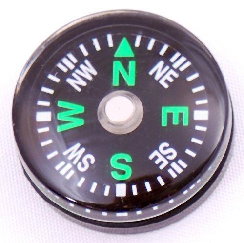 Zeagro - Lot de 5 boussoles miniatures 20 mm pour kit de survie