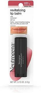 Neutrogena Revitalizing Lip Balm Spf 20, Fresh Plum 60, .15 Oz.