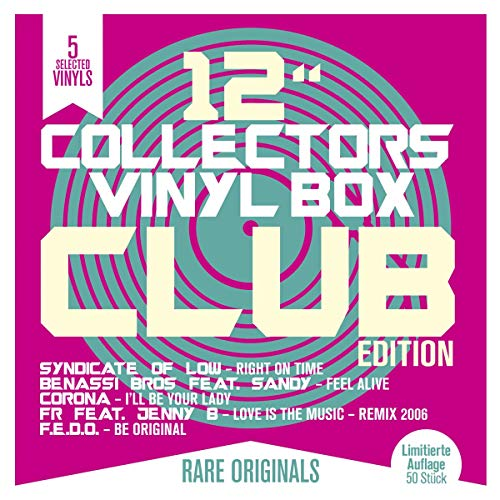 12'Collector's Vinyl Box: Club