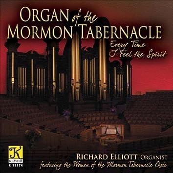 Organ Recital: Elliott, Richard - Bach, J.S. / Elgar, E. / Karg-Elert, S. / Schreiner, A. / Durufle, M. / Wood, D. (Organ of the Mormon Tabernacle)