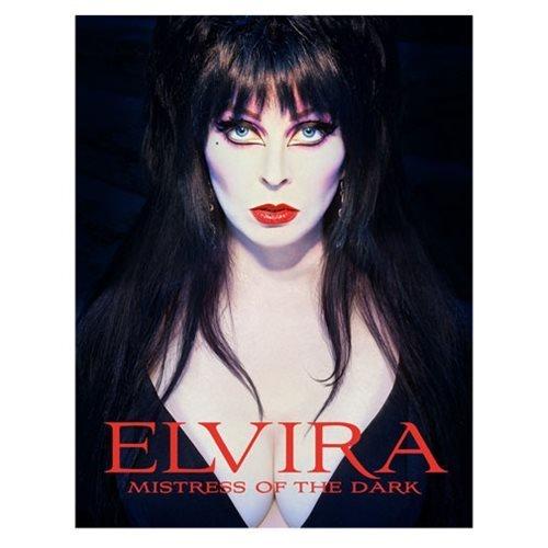Tweeterhead Elvira, Mistress of The Dark Hardcover Book