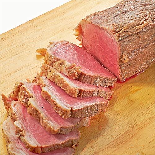 低温熟成 牛 ローストビーフ 肉 ブロック 牛肉 無添加 ギフト おまけ付(特製たれ&西洋わさび レホール) (1kg)