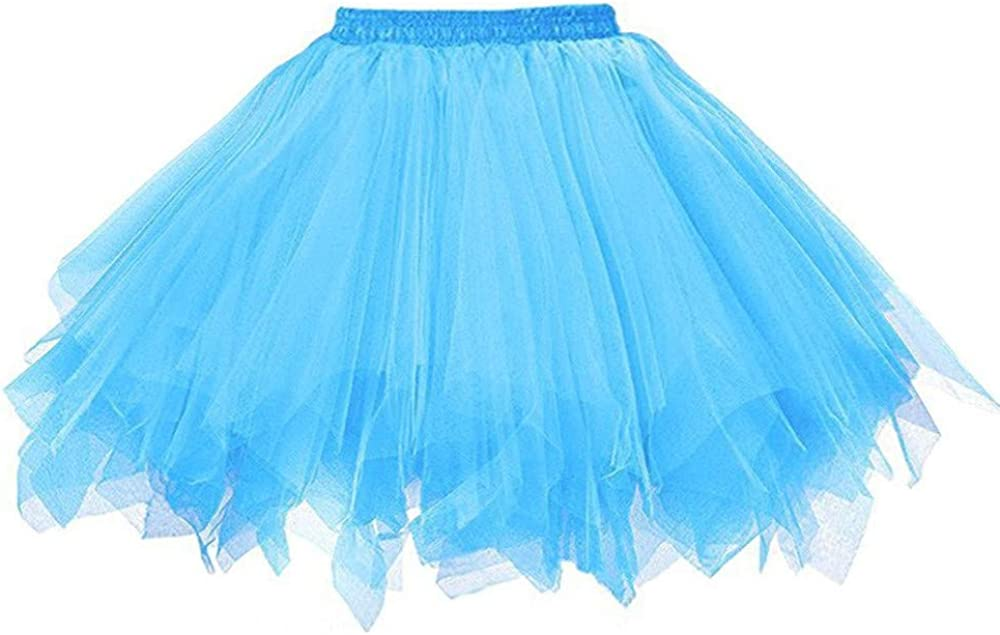 Women's 1950s Vintage Tutu Petticoat Ballet Bubble Skirt