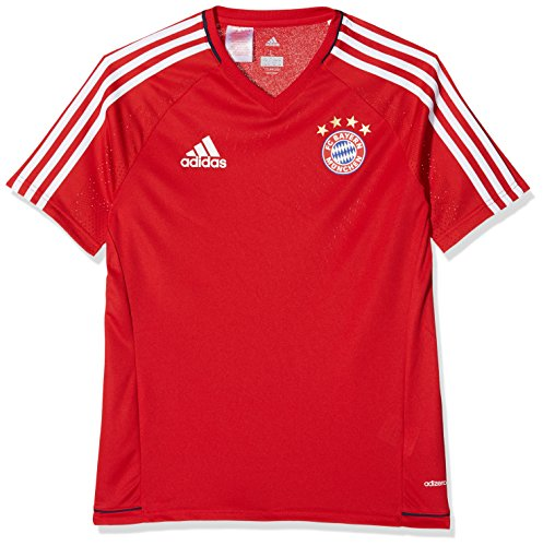 adidas FC Bayern München Trainingsshirt Kinder rot, 176