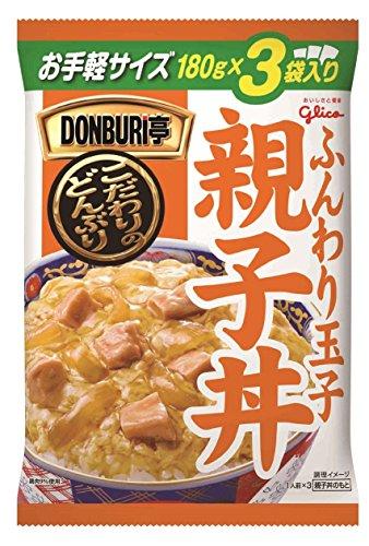 江崎グリコ DONBURI亭 3食パック親子丼 180g×3食