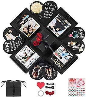 YITHINC Creative Explosion Box,DIY Handgjorda Fotoalbum Scrapbooking Presentförpackning som Födelsedagspresent och överras...