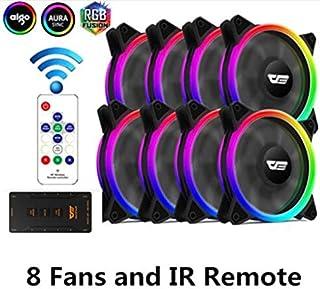 Fans & Cooling - Aigo darkFlash Authentic DR12-Pro Computer Cooler Cooling RGB Fans Computer PC Case Fan RGB Adjust 3P-5V ...