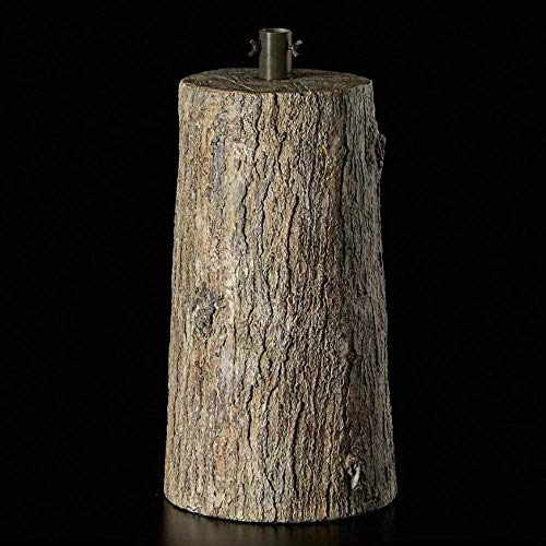 albero di natale artificiale EDG Base Finto Legno Ø22cm x h45 per Albero di Natale Artificiale h 150/180cm