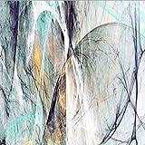 Abstrakte Kunst Ölgemälde Wandgemälde Leinwand Gemälde Wohnzimmer Dekoration Gemälde Kreative Strichzeichnung 20x60cm