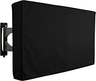 """yosunl Outdoor TV Cover 36"""" - 38"""" Waterproof Dustproof Television Protector Remote Control Pocket Bottom Cover for LED LCD..."""