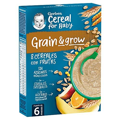 GERBER Papilla de 8 Cereales con Frutas