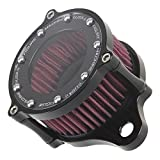 Motorcycle Air Cleaner Intake Filter for 2004-2015 Harley Sportster XL 883 1200