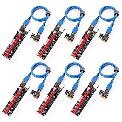 Ziyituod 6er Pack Neueste PCI-E Riser...