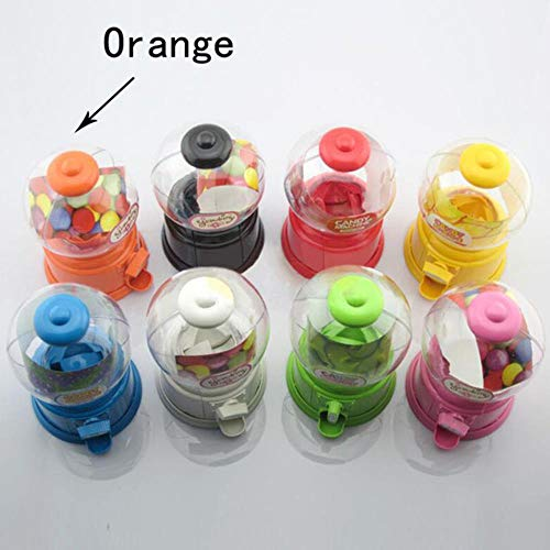 Piore Spaarpot Spaarpotten Speelgoed Twisted Candy Machine Handleiding Snoepfles Bonbondoos Kleine snoepjes Dispenser Snoepjes Opslag, Oranje