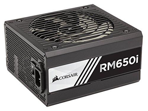 Corsair RM650i Alimentation PC (Modulaire Complet, 80 PLUS Gold, 650 Watt, EU)