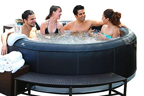 MSPA Super Camaro Relaxation and Hydrotherapy 6 Person Premium Bubble Spa Round M-051S