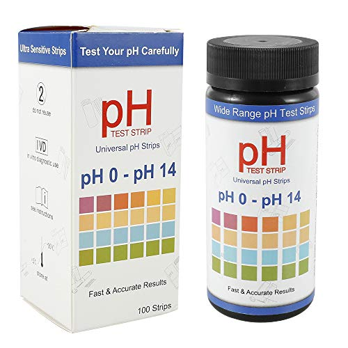 Soil Test Strips, Soil Testing Kit, 100 Tests PH Strips for Testing Soil,...