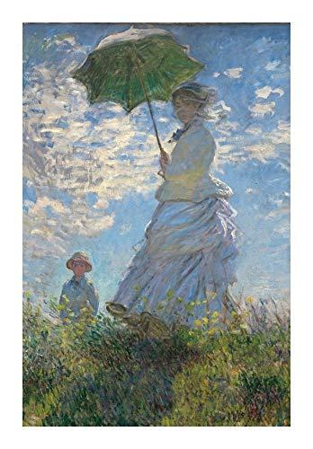 Jigsaw puzzle Puzzle-s Monet Puzzle for Erwachsene 1000 Stück Weltberühmte Malerei - Frau mit einem Sonnenschirm - Hauptdekorationen und Geschenke