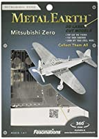 Metal Earth: Zero Fighter