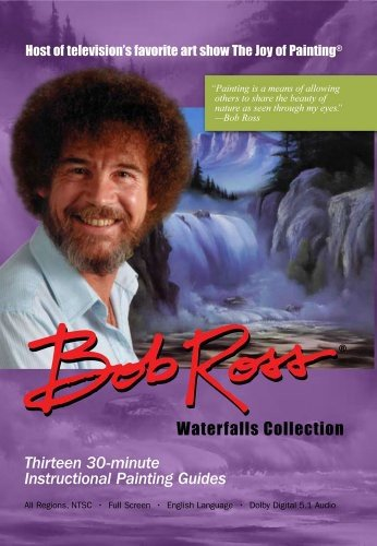 Bob Ross - Waterfall Collection (3 DVDs)