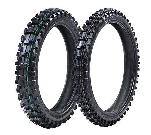 ProTrax Tire Kit Front 80/100-21 & Rear 120/80-19 Inch Tire Combo