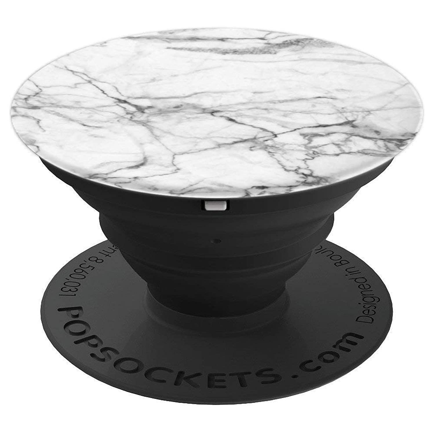 Dove White Marble - PopSockets Grip and Stand for Phones and Tablets