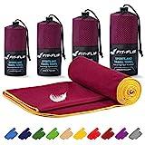 Fit-Flip Microfaser Handtücher Set – 16 Farben, viele Größen – Handtuch Microfaser – das...