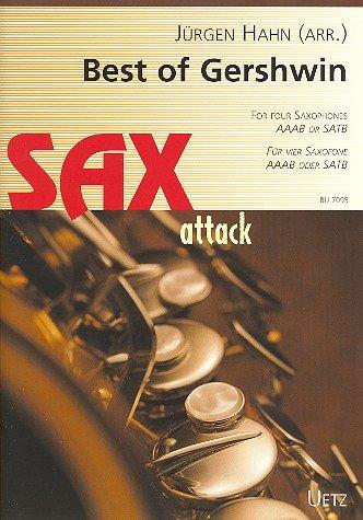 Best of Gershwin. De hitte voor vier saxofone (AAAB of SATB) (partitur en stemmen).