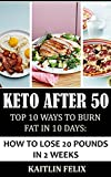 Keto After 50: Top 10 Ways To Burn Fat In 10 Days: How To Lose 20 Pounds In 2 Weeks (English Edition)
