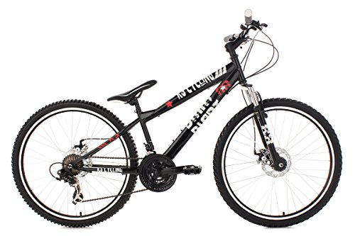 KS Cycling Mountainbike Dirt 26'' Dirrt schwarz RH 34 cm