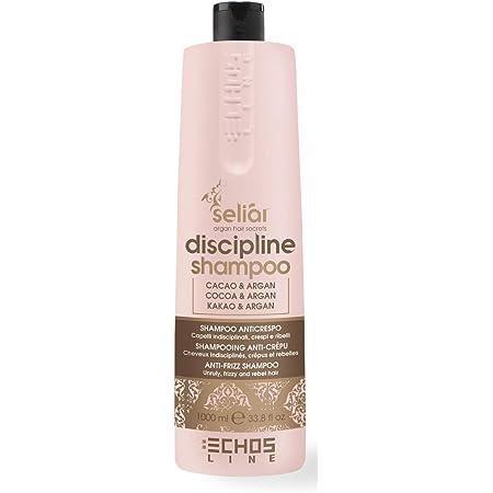 Echosline Seliàr Discipline Shampoo Disciplinante Anticrespo Capelli Crespi e Ribelli, 1000 ml