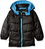 iXtreme Baby Boys' Ripstop Puffer, Black, 12 Months