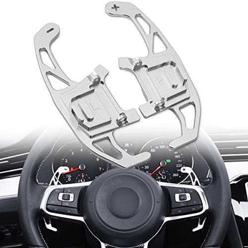 DSG Steering Wheel Shift Paddles Shifters Replacement Kit fit For VW Volkswagen Golf MK7 GTI R R-line Scirocco 2014-2019