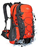 INOXTO lightweight Hiking Backpack 40L Hiking Daypack with Waterproof Rain Cover Camping Backpack...