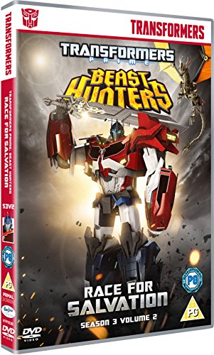 Transformers Prime Season 3 Beast Hunters - Race for Salvation [DVD] [Reino Unido]