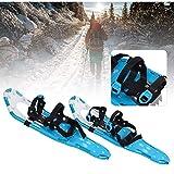 SOAR Raquetas Nieve Zapatos de Nieve al Aire Libre, Marco de Aluminio, Campo de Nieve Ligero y Flexible, Zapatos de Nieve para Caminar Flexibles, Zapatos de Escalada de esquí alpinos Ligeros