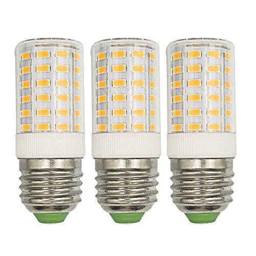 E27 LED Leuchtmittel 7W (Ersetzt 100W Halogenlampe) 3000K 1000 Lumen AC 100-265V E27 mittelgroßer Schraubsockel nicht dimmbar 360 ° Abstrahlwinkel kein Flackern 3 Stück [MEHRWEG]