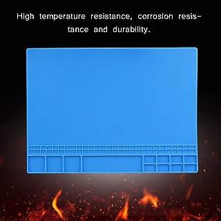 Sutinna Tapete de Plataforma de Mantenimiento, tapete de Aislamiento de Silicona Resistente al Calor Flexible, Resistencia...